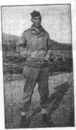 Mike McKinney in 1944